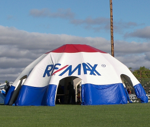 RE/MAX 30 foot Inflatable Shelter
